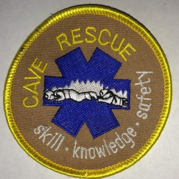 Cave Rescue Patch - Product Image
