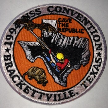 1994 NSS Convention Bracketville Patch - Product Image