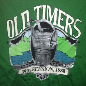 1988 OTR Long Sleeve Shirt Green - Product Image