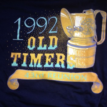 1992 OTR Long Sleeve Shirt Navy - Product Image