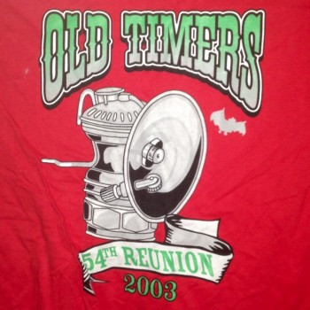 2003 OTR Short Sleeve Shirt Red - Product Image