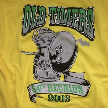 2003 OTR Short Sleeve Shirt Yellow - Product Image