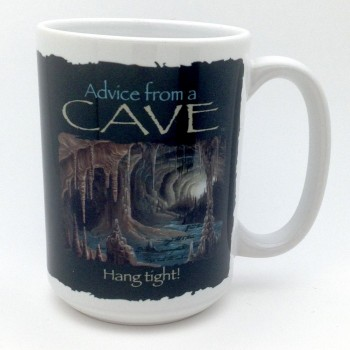 Advice From A Cave Coffee Mug - Product Image