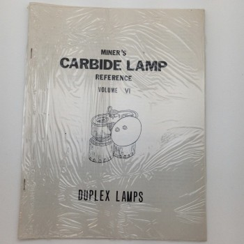 Miners Carbide Lamp Reference Volume VI Duplex Lamps - Product Image