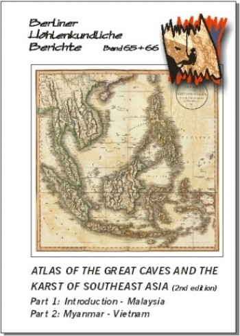 Atlas of the Great Caves and the Karst of Southeast Asia. 2nd Edition. BHB Volumes 65 + 66 - Product Image