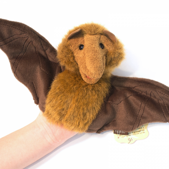 Bat Hand Puppet For Small Hands - Product Image