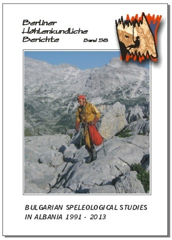 Bulgarian Speleological Studies in Albania 1991-2013.   BHB  Volume 58. - Product Image