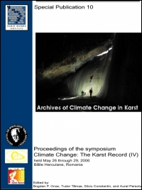 Climate Change - The Karst Record, IV Special Publication 10 - Product Image
