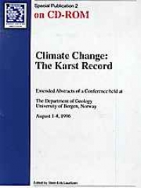 Climate Change: The Karst Record  CD - Product Image