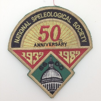 DC Grotto 50th Anniversary 1989 Patch - Product Image