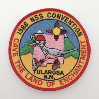 1986 NSS Convention Tularosa Patch - Product Image
