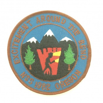 1982 NSS Convention Bend Patch - Product Image