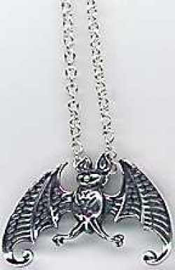 Edward Gorey Sterling Pendant - Product Image