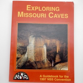 Exploring Missouri Caves (Missouri 1997) SOLD - Product Image
