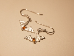 Free-tail Bat Earrings - Product Image