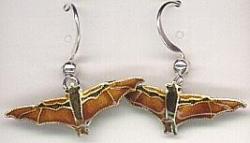 Fruit Bat Drop Earrings by Bamboo - Product Image