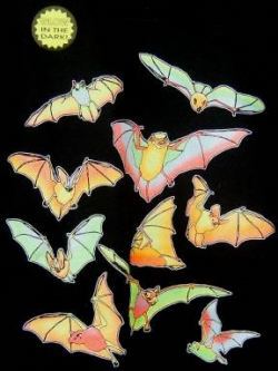 Glowing Bats Youth - Product Image