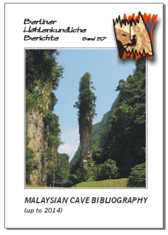 Malaysian Cave Bibliography (up to 2014) BHB  Volume 57. - Product Image