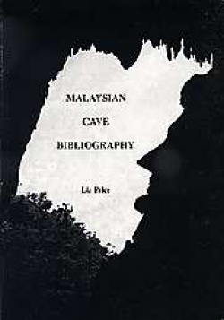 Malaysian Cave Bibliography - Product Image