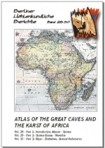 Atlas of the Great Caves and the Karst of Africa. 2nd edition., BHB Vol. 28, 29, 30 Special Order - Product Image
