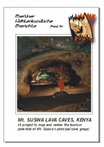Mt. Suswa Lava Caves, Kenya (a project to map and review the tourism potential of Mt. Suswa's principal cave group), BHB Vol. 31 - Product Image