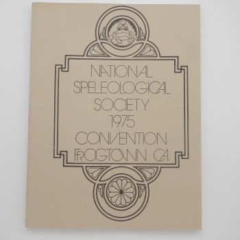 National Speleological Society 1975 Convention Frogtown CA  (California 1975) - Product Image