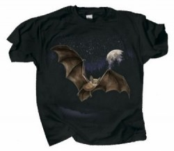 Bat And Moon Shirt - Product Image