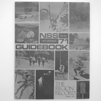 The Region Record NSS 71 Guidebook (Virginia 1971) SOLD - Product Image