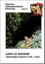 Caves of Mizoram (speleological projects in NE-India), BHB Vol. 5 - Product Image