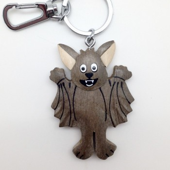 Standing Happy Bat on a swivel clip - Product Image