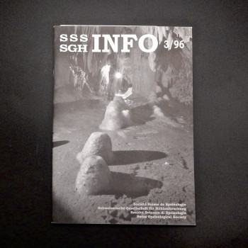 Information on the Swiss Speleological Society in 4 languages - Product Image