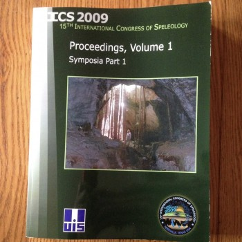 2009 International Congress Of Speleology Proceedings - Product Image
