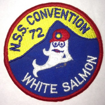 1972 NSS Convention White Salmon Patch - Product Image