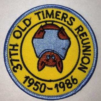 37th OTR 1986 Patch - Product Image