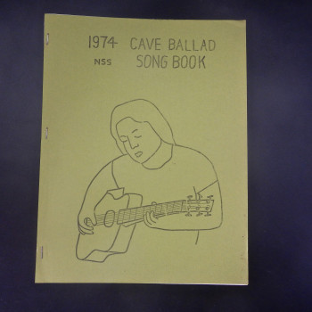 1974 Cave Ballad Song Book - Product Image