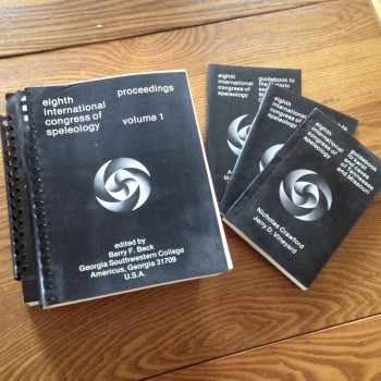 1981 International Congress Of Speleology Proceedings and Guidebooks - Product Image