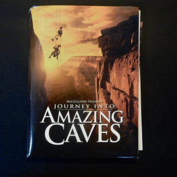 Journey into Amazing Caves, press packet - Product Image