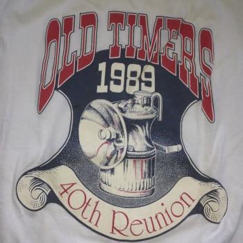 1989 OTR Short Sleeve Shirt White - Product Image