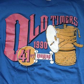1990 OTR Long Sleeve Shirt Turquoise - Product Image