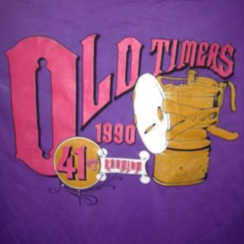 1990 OTR Short Sleeve Shirt Lavendar - Product Image