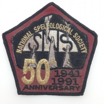 1991 NSS 50th Anniversary Convention Patch - Product Image