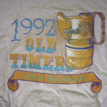 1992 OTR Short Sleeve Shirt Natural - Product Image