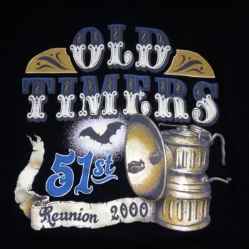 2000 OTR Short Sleeve Shirt Black - Product Image