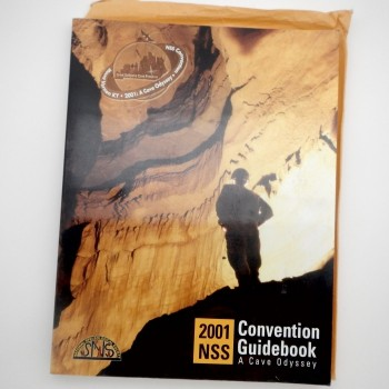 2001 NSS Convention Guidebook, A cave Odyssey (Kentucky)  - Product Image