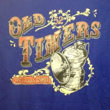 2001 OTR Short Sleeve Shirt Bright Blue - Product Image