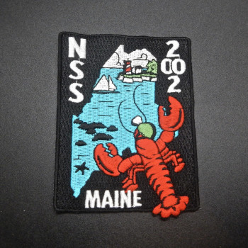 2002 NSS Convention Camden ME Patch (or pin) - Product Image