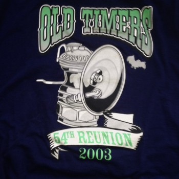2003 OTR Short Sleeve Shirt Navy - Product Image