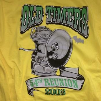 2003 OTR Short Sleeve Shirt Yellow - Product Image