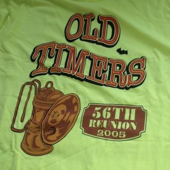 2005 OTR Short Sleeve Shirt Chartreuse - Product Image