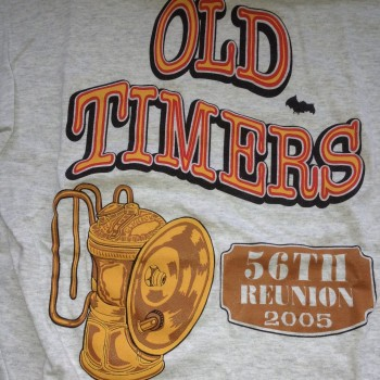 2005 OTR Short Sleeve Shirt Gray - Product Image